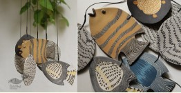Handmade Ceramic Chimes - ( Fish... ) 15