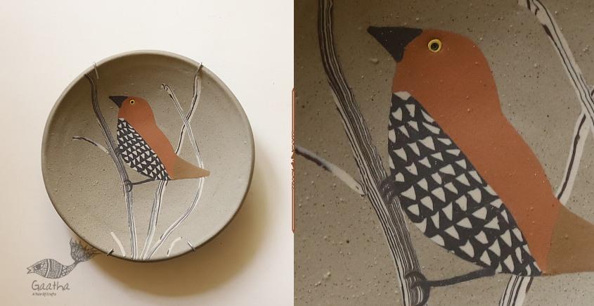 Handmade Ceramic Wall Plate - Munia