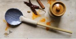Ochre   Ceramic Serving Spoon - 2