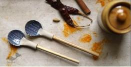 Ochre   Ceramic Spoon ( Set of Two ) - 3