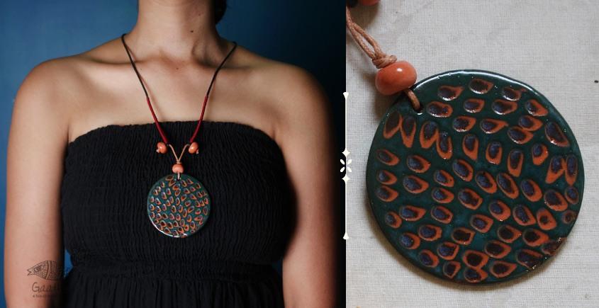 Mohini ❅ Ceramic Designer Jewelry ❅ Necklace - 3