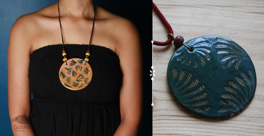 Mohini ❅ Ceramic Designer Jewelry ❅ Necklace - 7