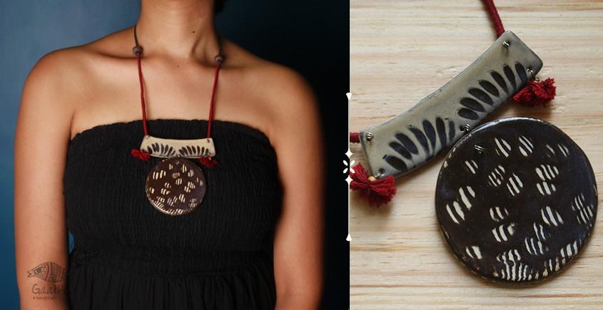 Mohini ❅ Ceramic Designer Jewelry ❅ Necklace - 12