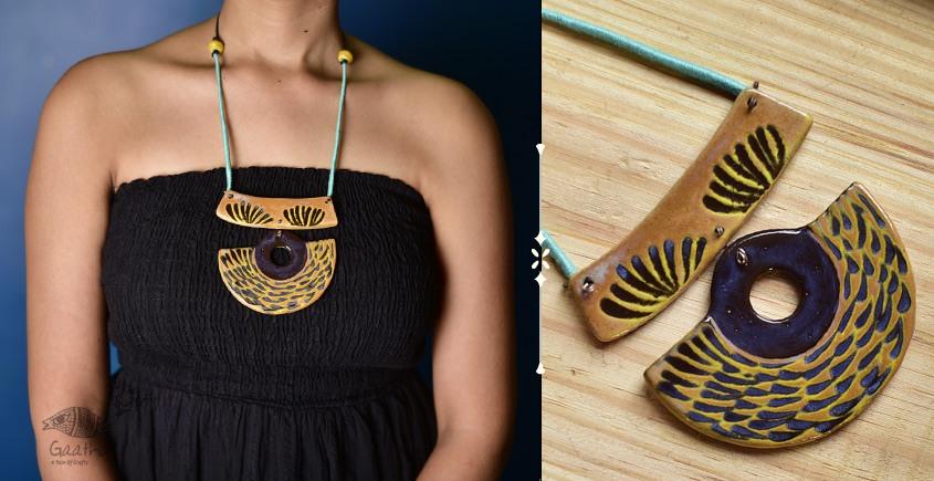 Mohini ❅ Ceramic Designer Jewelry ❅ Necklace - 13