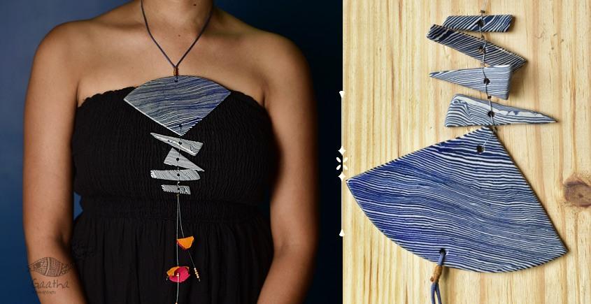 Mohini ❅ Ceramic Designer Jewelry ❅ Necklace - 16