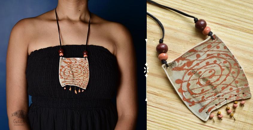 Mohini ❅ Ceramic Designer Jewelry ❅ Necklace - 18