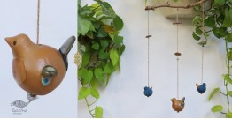 Ceramic Hanging Birds { A }