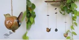 Ceramic Hanging Birds { B }