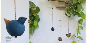 Ceramic Hanging Birds { C }