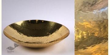Virasat ❋  Brass . Curved Plate ❋ 13