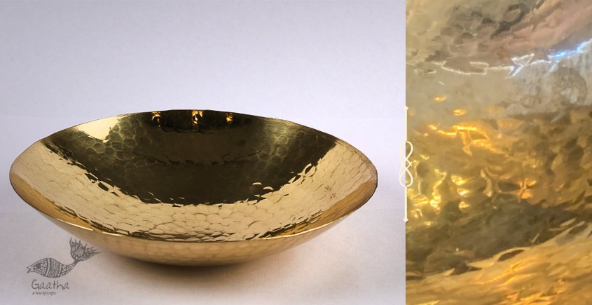 shop online Handmade brass products - Curved Plate