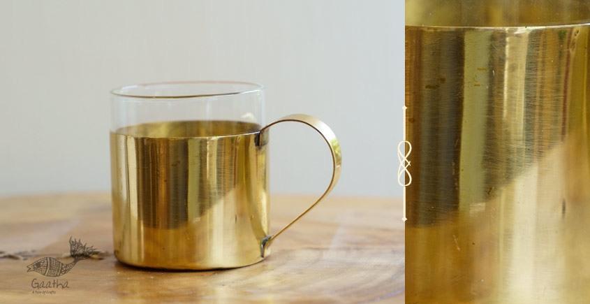 Virasat ❋  Brass . Teacup (2.6 x 2.6 x 2) ❋ 10