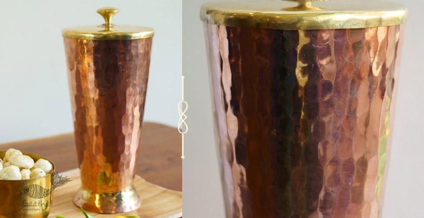 Virasat ❋  Copper . Tumbler (4 x 4 x 7) ❋ 3