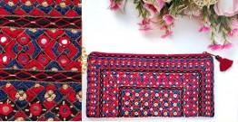 Gunthan ✠ Rabari Embroidered  Classic Clutch ✠ 18