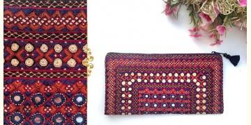 Gunthan ✠ Rabari Embroidered  Classic Clutch ✠ 19