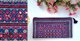 Gunthan ✠ Rabari Embroidered  Classic Clutch ✠ 20
