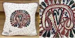 Gunthan ✠ Rabari Embroidered  Cushion Cover ✠ 11