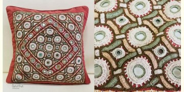 Gunthan ✠ Rabari Embroidered  Cushion Cover ✠ 25