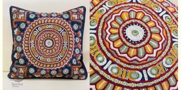 Gunthan ✠ Rabari Embroidered  Cushion Cover ✠ 26