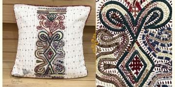 Gunthan ✠ Rabari Embroidered  Cushion Cover ✠ 9