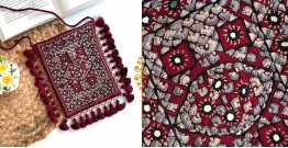 Gunthan ✠ Rabari Embroidered Fringe Mobile Bag ✠ 6