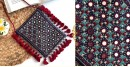 handmade Rabari Embroidered Fringe Mobile Bag 7