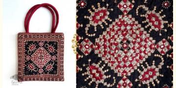 Gunthan ✠ Rabari Embroidered Handle Bag ✠ 21