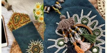Gunthan ✠ Rabari Embroidered Mobile Sling Bag ✠ 1
