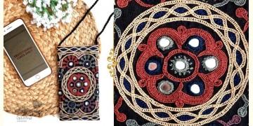 Gunthan ✠ Rabari Embroidered Mobile Sling Bag ✠ 2