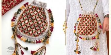 Gunthan ✠ Rabari Embroidered Navrang Potli Sling Bag ✠ 14