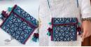 handmade Rabari embroidered Mobile sling bag