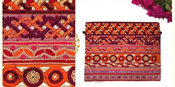 Gunthan ✠ Rabari Embroidered Utility Pouch ✠ 17