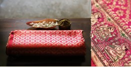 Ashaavali | अशावली ⁂ Gujarati Brocade ⁂ Silk Saree ⁂ 19