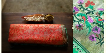अशावली ⁂ Gujarati Brocade ⁂ Silk Saree ⁂ 1