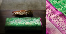 Ashaavali | अशावली ⁂ Gujarati Brocade ⁂ Silk Saree ⁂ 10
