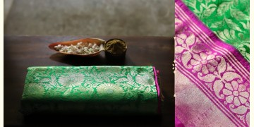 अशावली ⁂ Gujarati Brocade ⁂ Silk Saree ⁂ 10