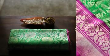 Ashaavali   अशावली ⁂ Gujarati Brocade ⁂ Silk Saree ⁂ 10
