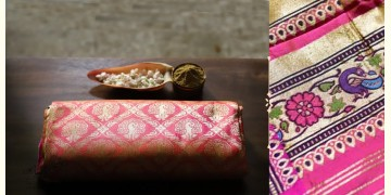अशावली ⁂ Gujarati Brocade ⁂ Silk Saree ⁂ 15
