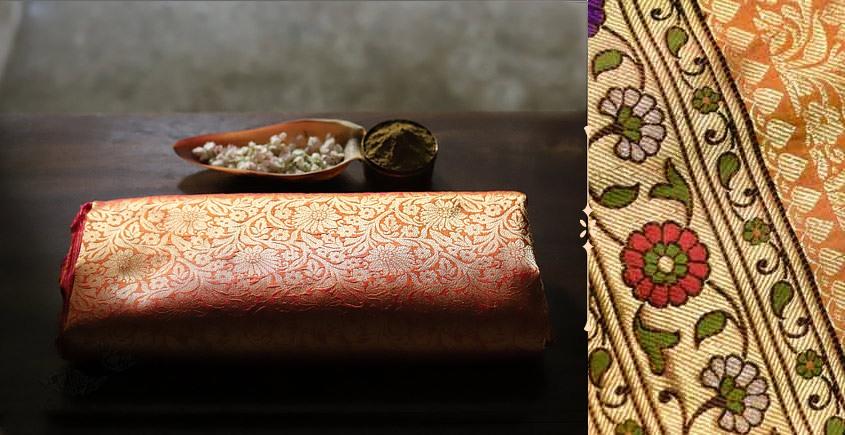 Ashaavali   अशावली ⁂ Gujarati Brocade ⁂ Silk Saree ⁂ 16