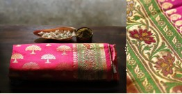 अशावली ⁂ Gujarati Brocade ⁂ Silk Saree ⁂ 17