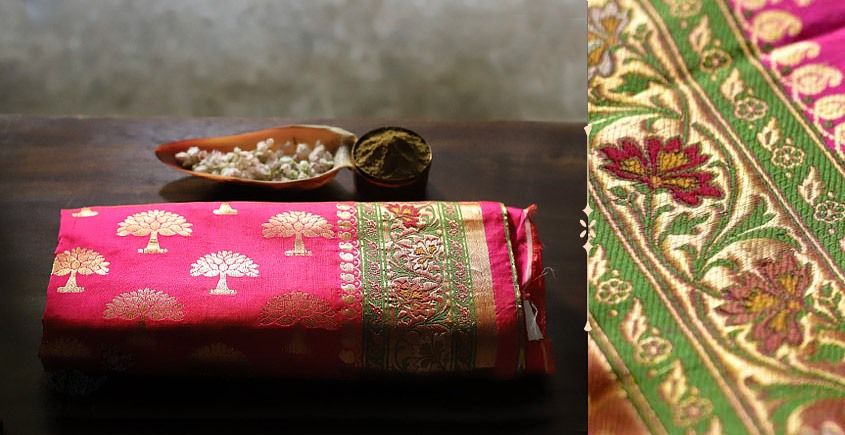 Festival Special collection - Brocade saree for wedding 17