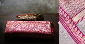 Ashaavali | अशावली ⁂ Gujarati Brocade ⁂ Silk Saree ⁂ 18