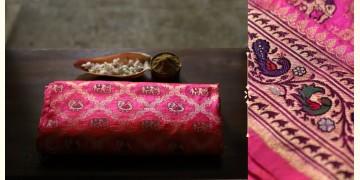 Ashaavali | अशावली ⁂ Gujarati Brocade ⁂ Silk Saree ⁂ 11