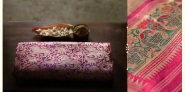 Ashaavali | अशावली ⁂ Gujarati Brocade ⁂ Silk Saree ⁂ 5