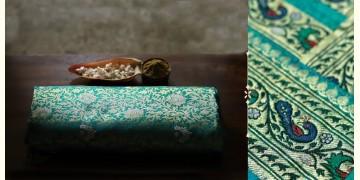 Ashaavali | अशावली ⁂ Gujarati Brocade ⁂ Silk Saree ⁂ 8