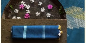 नयनतारा ❂ Tussar Silk with Zari Buta  Saree ❂ Cerulean Blue ❂ 4