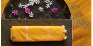 नयनतारा ❂ Tussar Silk with Zari Buta  Saree ❂ Yellow ❂ 8