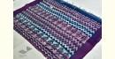blue Mulberry Silk Dabu Printed Saree