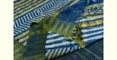 shop Mulberry Silk Dabu Printed blue Sari