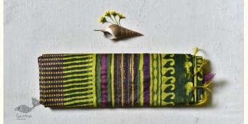 Bheeni . भीनी ❧ Handloom Mulberry Silk Dabu Printed Saree ☙ 10